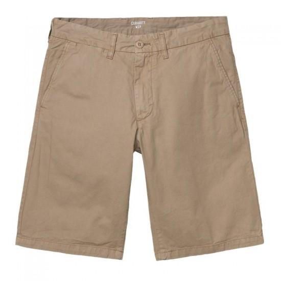 Carhartt WIP - Short chino marron