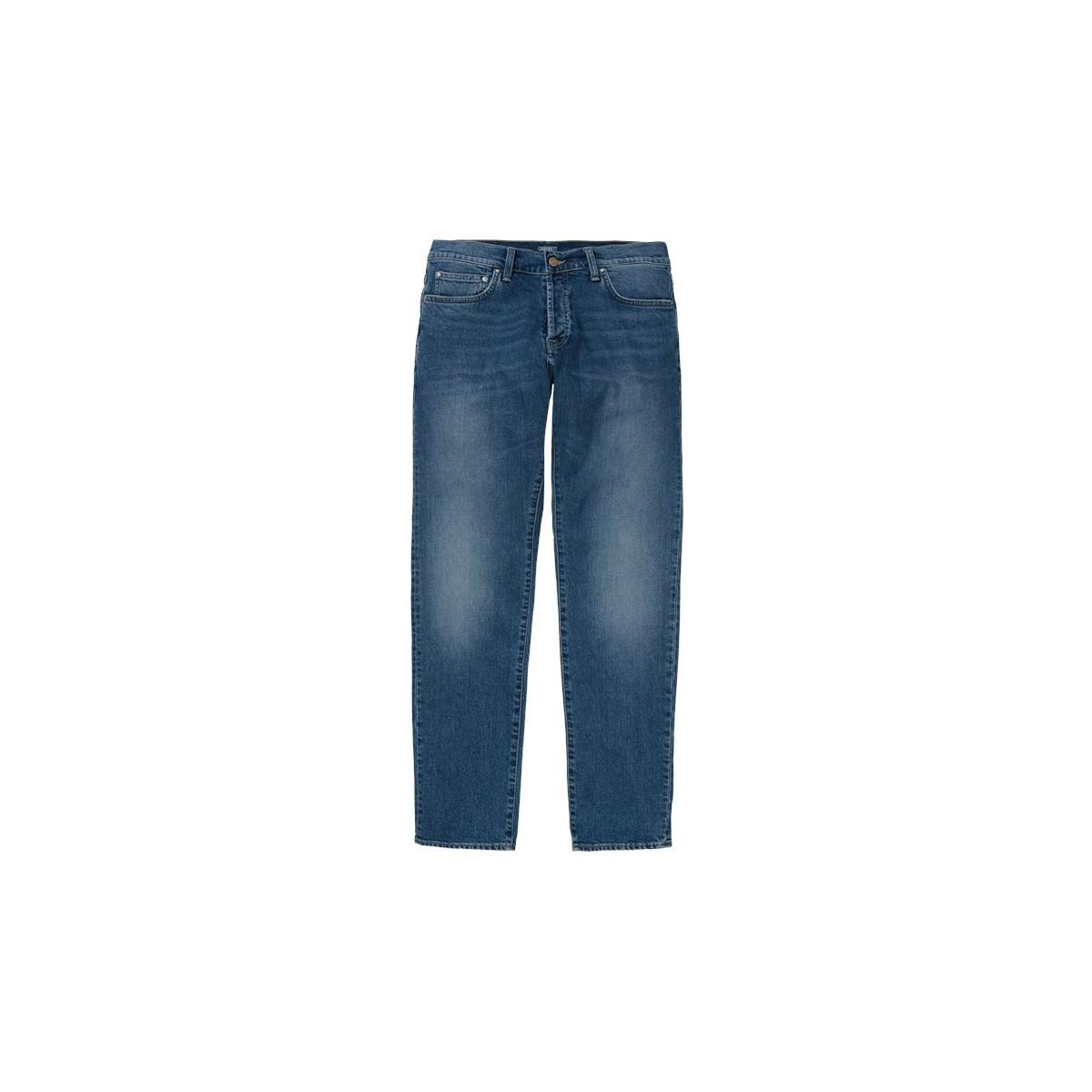 Carhartt WIP - Jeans Klondike blue stone coast