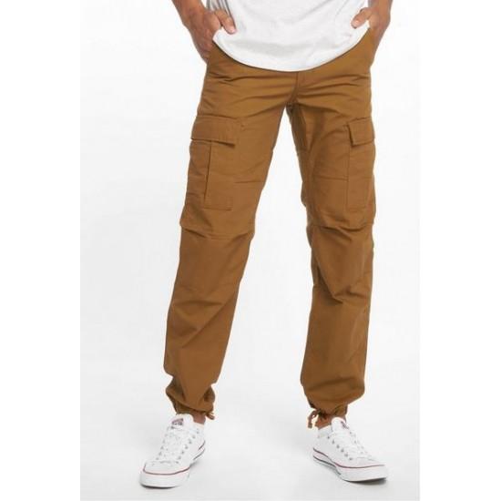 Carhartt WIP - Pantalon cargo marron