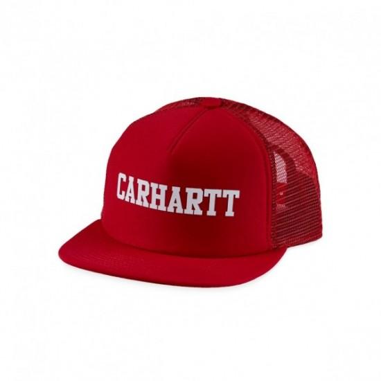 Carhartt WIP - Casquette rouge avec filet