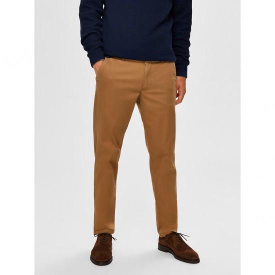 Selected homme - Pantalon chino ajusté camel