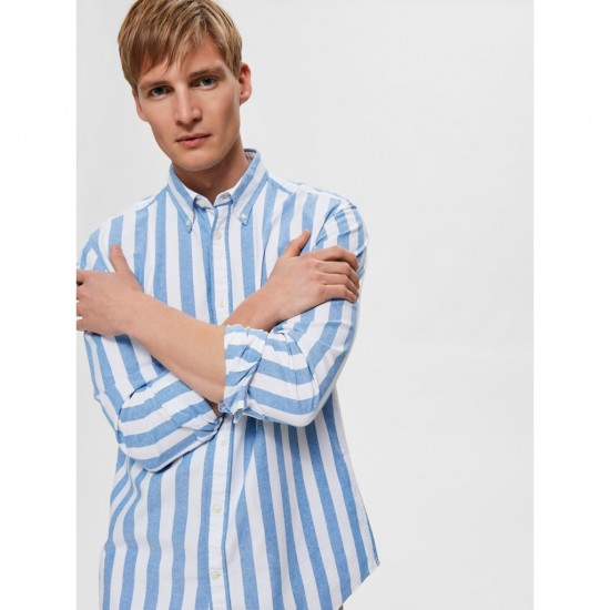 Selected homme - Chemise à rayures