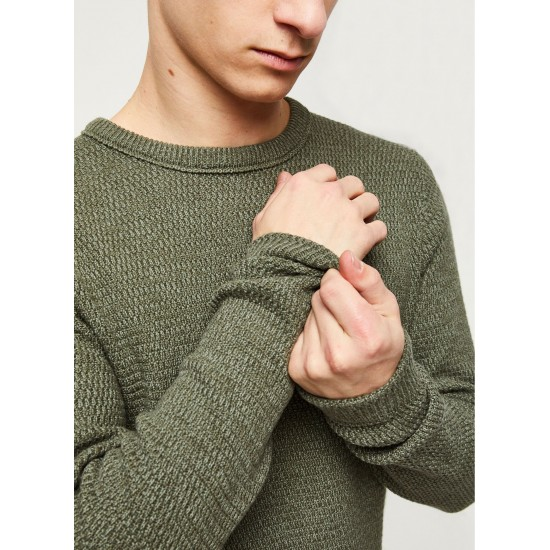 Selected homme - Pull vert pour homme
