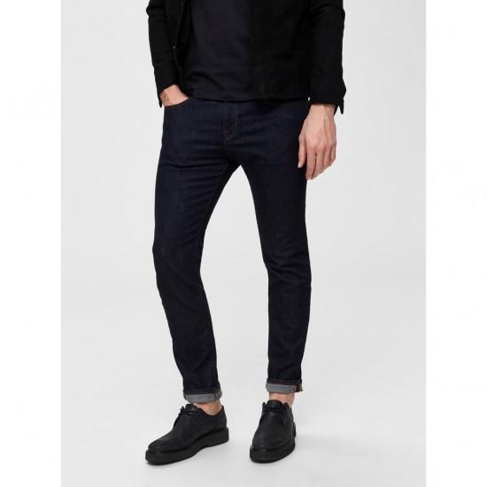 Selected homme - Jeans slim fit bleu foncé