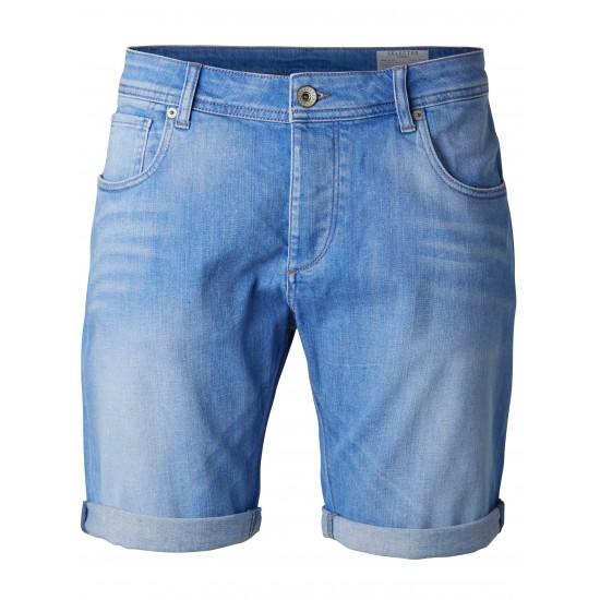 Selected - Bermuda jeans clair