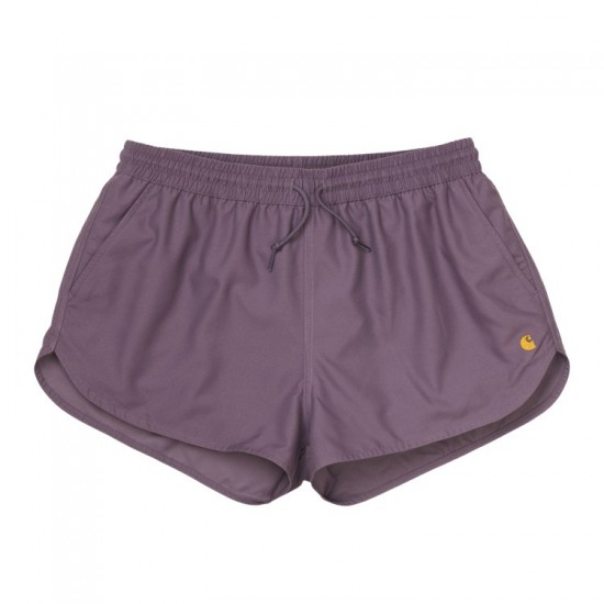 Carhartt wip- Short de bain violet