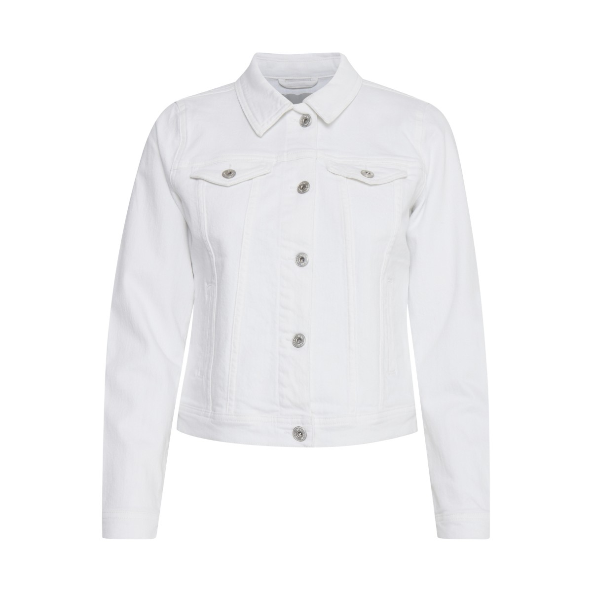 Ichi - Veste en jean blanche