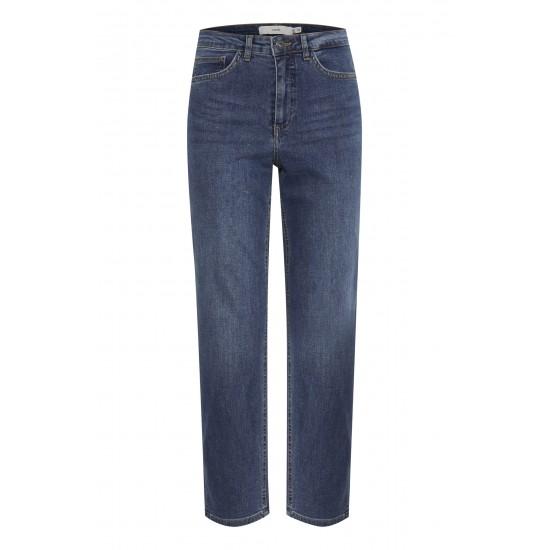 Ichi - Jean bleu taille haute