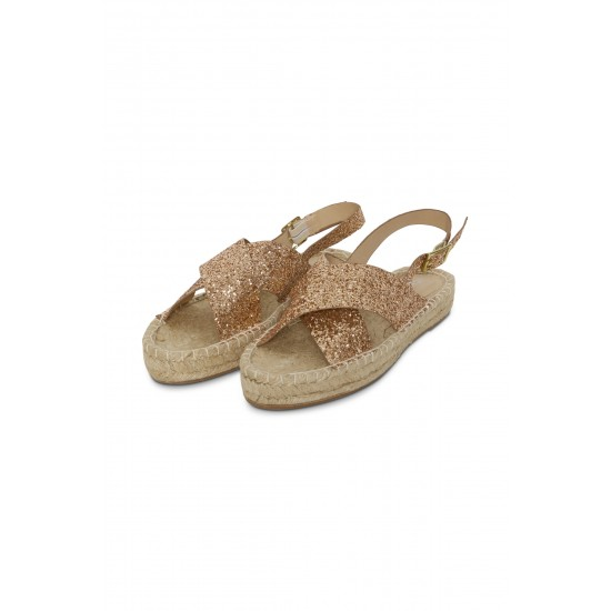 Ichi - Sandales à paillettes