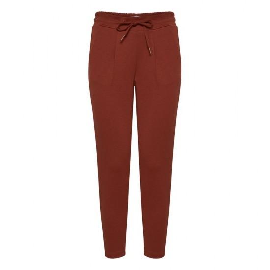 Ichi - Pantalon rouille femme