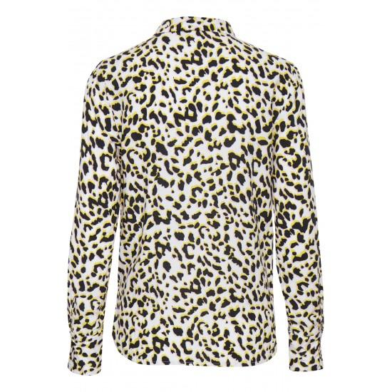 Ichi - Chemise imprimée léopard femme