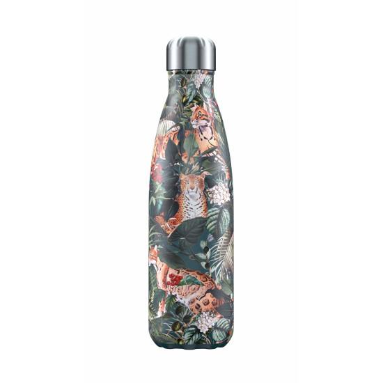 Chilly's Bottles - Bouteille réutilisable léopard 500mL