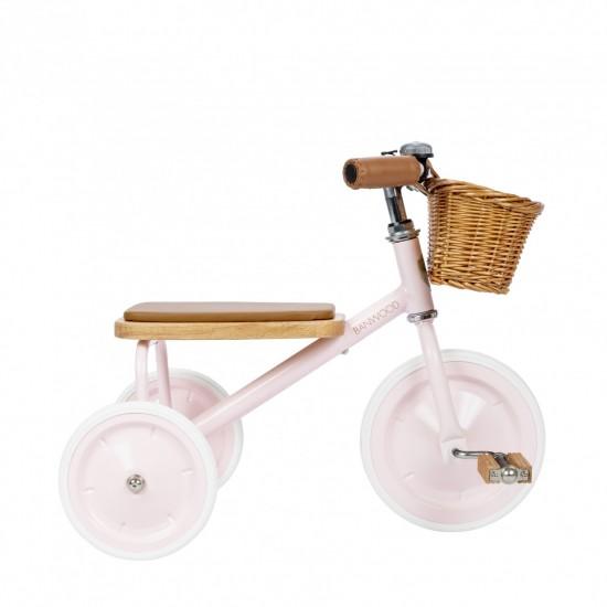 Banwood - Tricycle enfant couleur rose
