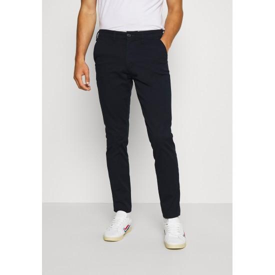 Selected homme - Pantalon chino ajusté marine
