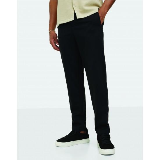 Selected homme - Pantalon chino ajusté noir