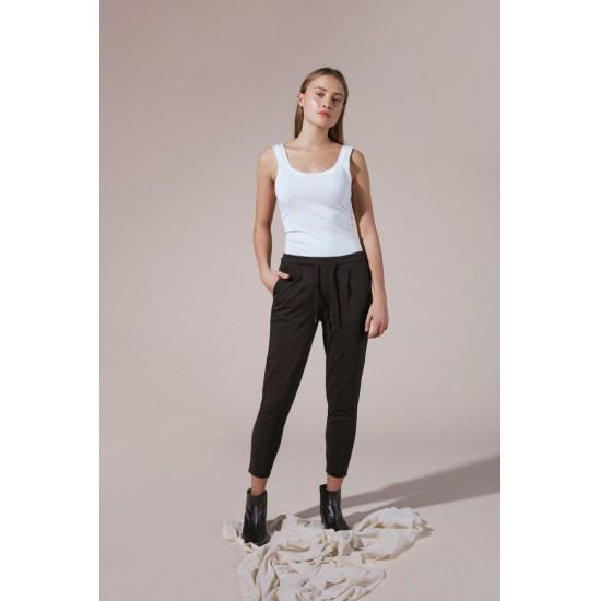Ichi - Pantalon noir femme