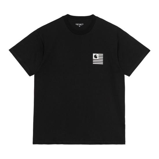 Carhartt WIP - T-shirt noir Fade State