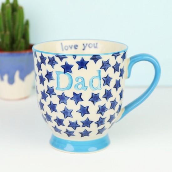 Sass & Belle - Tasse Dad Love You étoile bleue