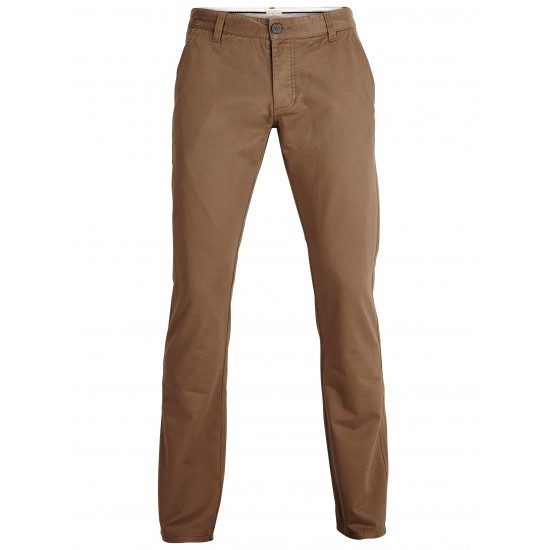 Selected homme - Pantalon chino camel regular