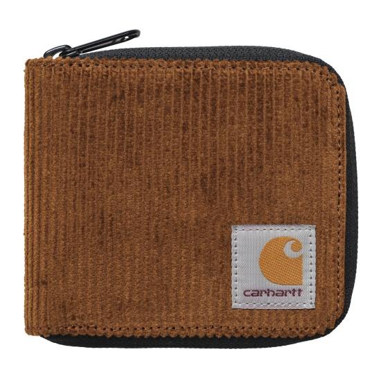 Carhartt - Portefeuille velours côtelé camel