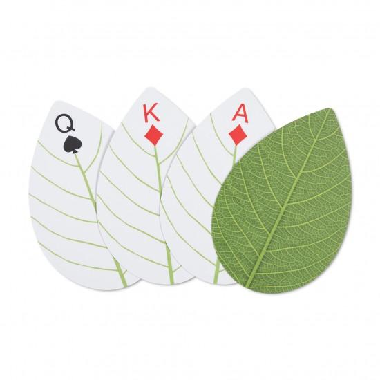Kikkerland - Jeu de cartes en forme de feuilles