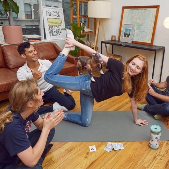 Kikkerland - Jeux yoga de la chèvre