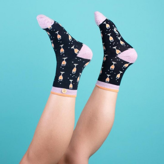 Cabaia - Chaussettes femme coupe champagne