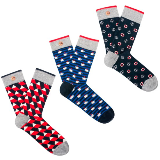 Cabaia - Pack de chaussettes French Touch