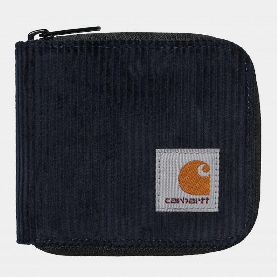 Carhartt - Portefeuille velours côtelé marine