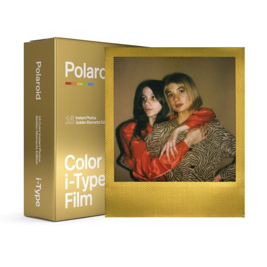 Polaroid Originals - Pack film couleur Golden Moments couleur pour appareil photo