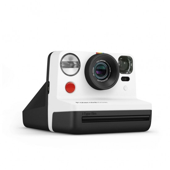 Polaroid Now - Appareil photo instantané i-Type noir et blanc