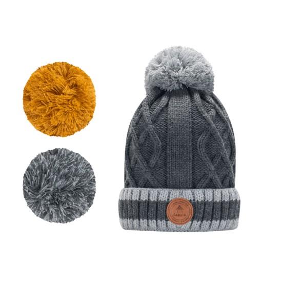 Cabaia - Bonnet Appletini gris