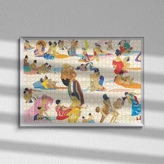 Piece & Love - Puzzle Surf by G.Kero