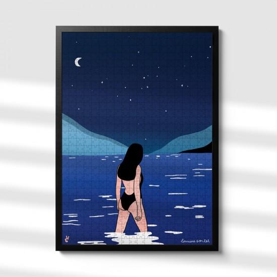 Piece & Love - Puzzle Bain de minuit by Lorraine Sorlet 1000 pièces