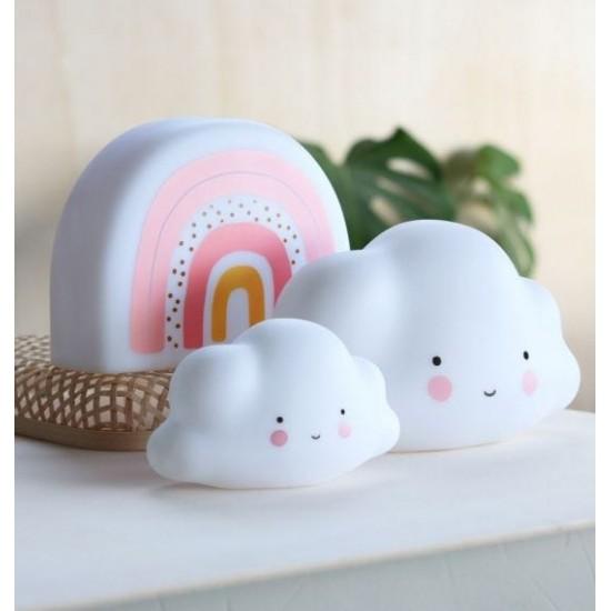 A Little Lovely - Veilleuse nuage blanc
