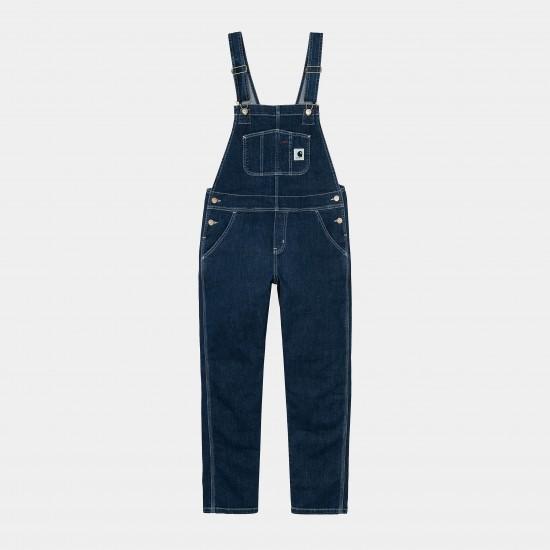 Carhartt WIP - Salopette en jean femme