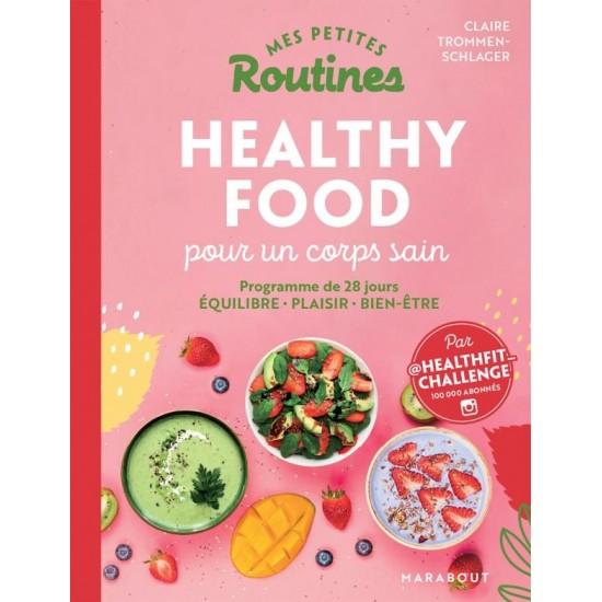 """Marabout - """"Mes Petites Routines - Healthy Food"""""""