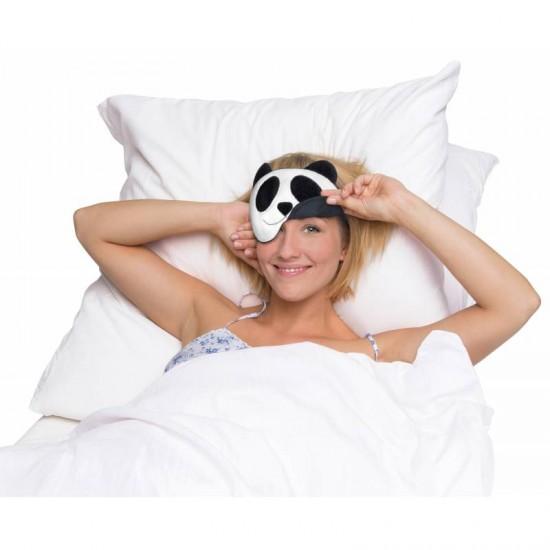 Leschi - Masque de nuit panda à chauffer ou refroidir