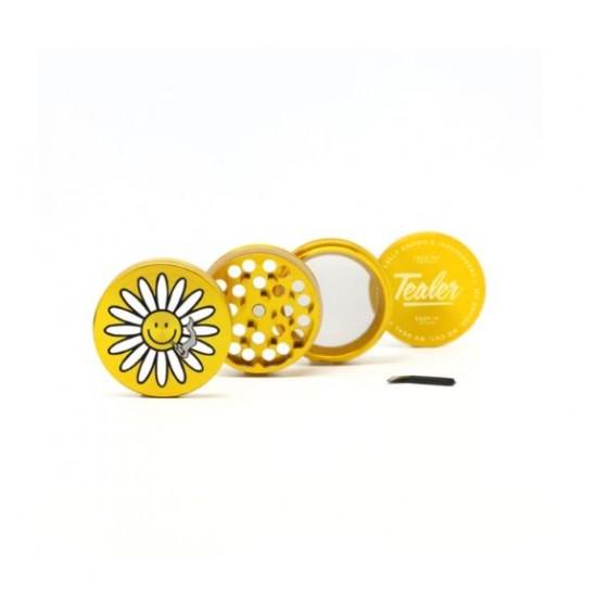 TealerLab - Grinder Fleur doré