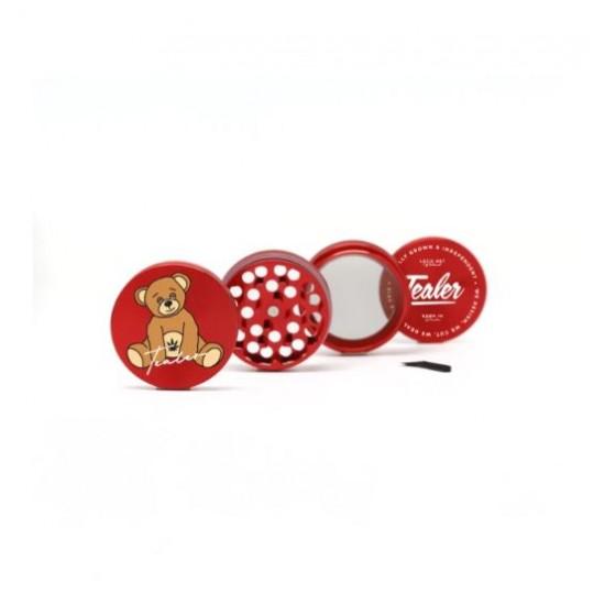 TealerLab - Grinder Teddy rouge