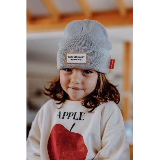 Hello Hossy - Bonnet Enfant et Parents Urban Gris