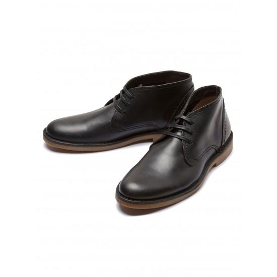 Selected - Chaussures noires en cuir