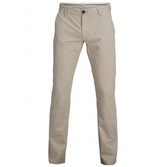 Selected homme - Pantalon chino beige clair regular