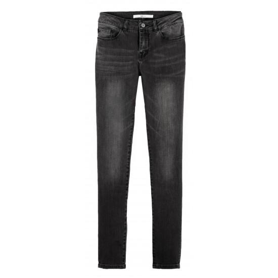 Lab Dip - Pantalon skinny 8/9 gris foncé