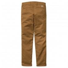 Carhartt - Pantalon chino Sid Camel Hamilton
