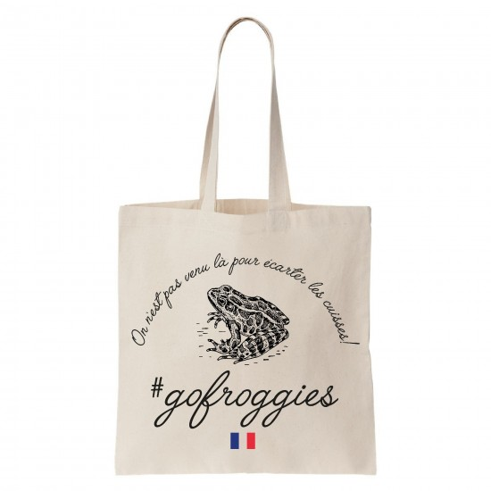 Tote-bag Go Froggies
