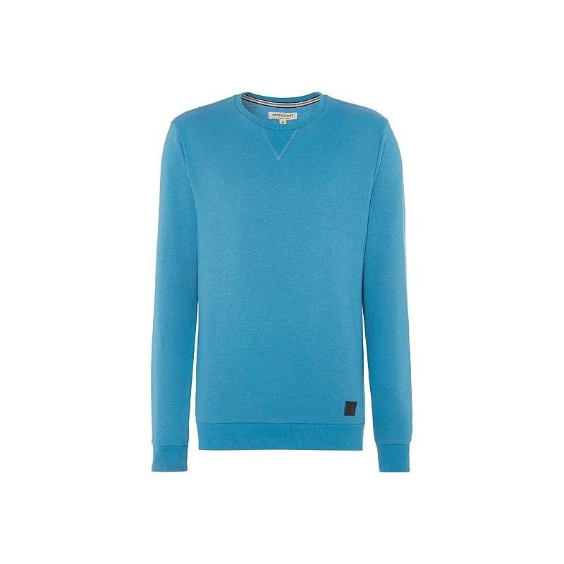 anerkjendt sweat shirt homme col rond bleu lagon chin. Black Bedroom Furniture Sets. Home Design Ideas