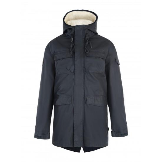 Bellfield - Manteau 2en1 bleu marine à capuche