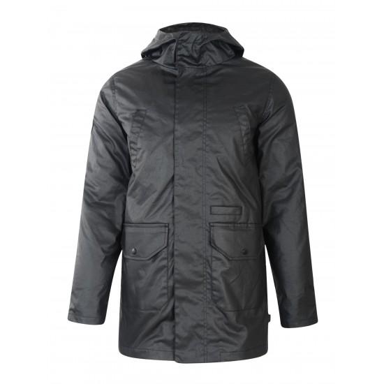 Bellfield - Manteau noir et gris 3en1 à capuche