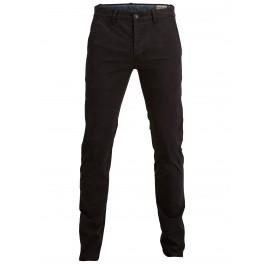 Selected homme - Pantalon chino noir skinny